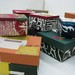 Paper boxes and graphic design