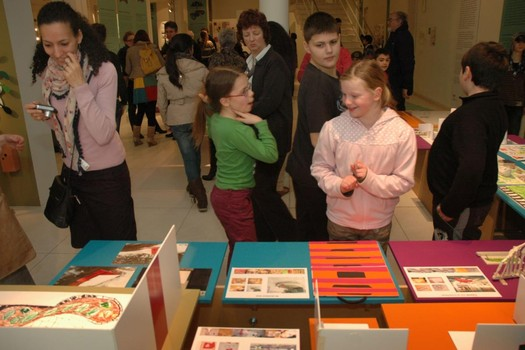 <p>Opening of the Fantasy Design exhibition in Design museum Gent, Belgium.</p>